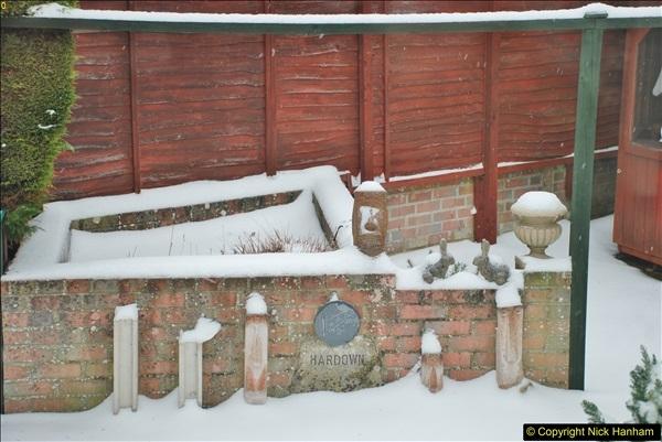 2018-03-02 Snow in Parkstone, Poole, Dorset.  (62)073