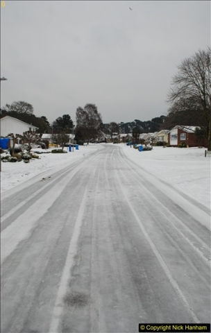 2018-03-02 Snow in Parkstone, Poole, Dorset.  (7)018