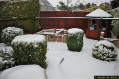 2018-03-01 Snow in Parkstone, Poole, Dorset.  (6)006