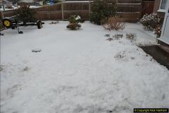 2018-03-02 Snow in Parkstone, Poole, Dorset.  (11)022