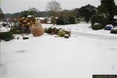 2018-03-02 Snow in Parkstone, Poole, Dorset.  (2)013
