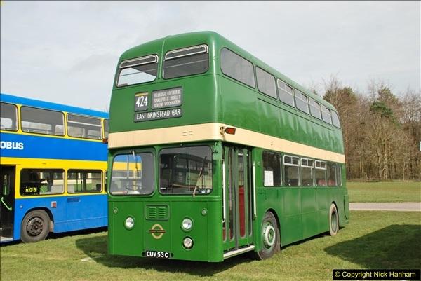 2018-04-07 South East Bus Festival @ Kent Showground, Detling, Nr. Maidstone, Kent.  (20)020