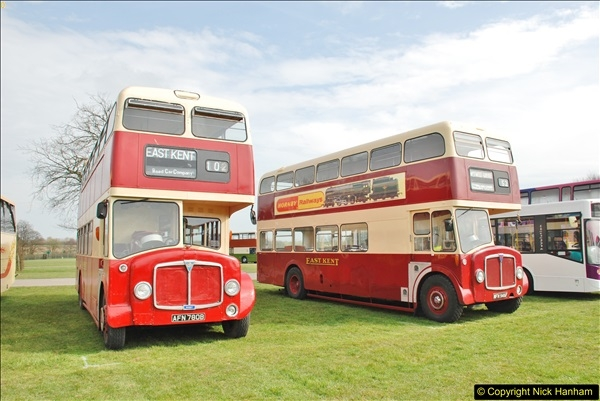 2018-04-07 South East Bus Festival @ Kent Showground, Detling, Nr. Maidstone, Kent.  (41)041