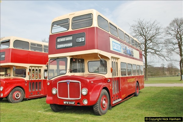2018-04-07 South East Bus Festival @ Kent Showground, Detling, Nr. Maidstone, Kent.  (47)047