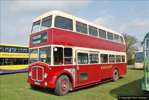 2018-04-07 South East Bus Festival @ Kent Showground, Detling, Nr. Maidstone, Kent.  (69)069