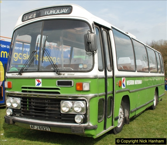 2018-04-07 South East Bus Festival @ Kent Showground, Detling, Nr. Maidstone, Kent.  (84)084