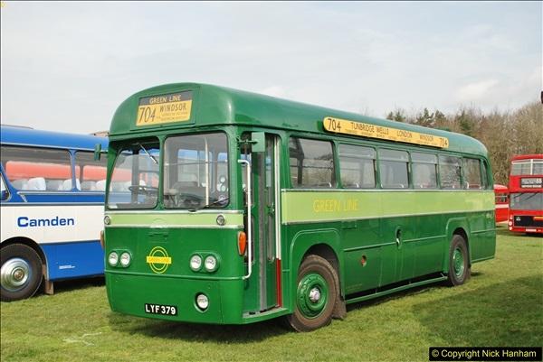 2018-04-07 South East Bus Festival @ Kent Showground, Detling, Nr. Maidstone, Kent.  (89)089