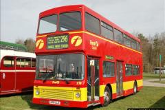 2018-04-07 South East Bus Festival @ Kent Showground, Detling, Nr. Maidstone, Kent.  (22)022