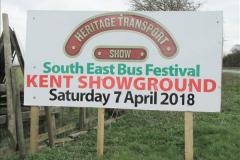 2018-04-07 South East Bus Festival @ Kent Showground, Detling, Nr. Maidstone, Kent.  (6)006