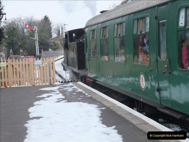 2010-12-23 Santa Specials. Driving DMU.  (38)193
