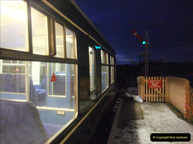2010-12-23 Santa Specials. Driving DMU.  (58)213