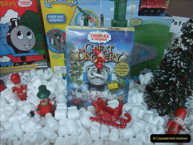 2010-12-23 Santa Specials. Driving DMU.  (6)161