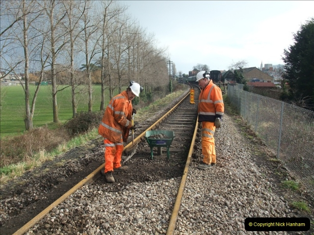 2011-01-21 New track @ Swanage. Driving 08.  (48)411