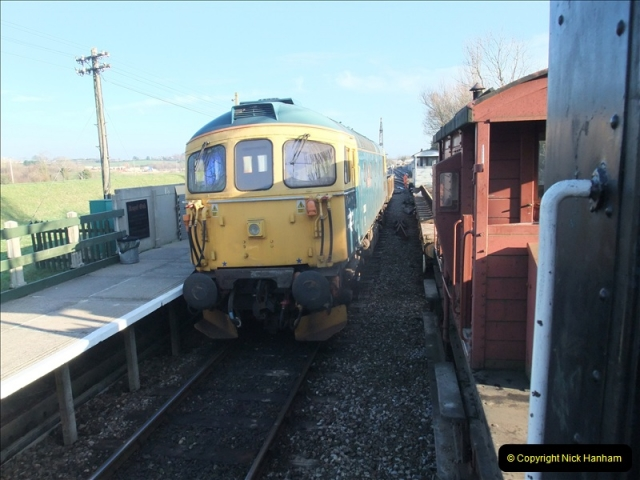 2011-01-21 New track @ Swanage. Driving 08.  (61)424