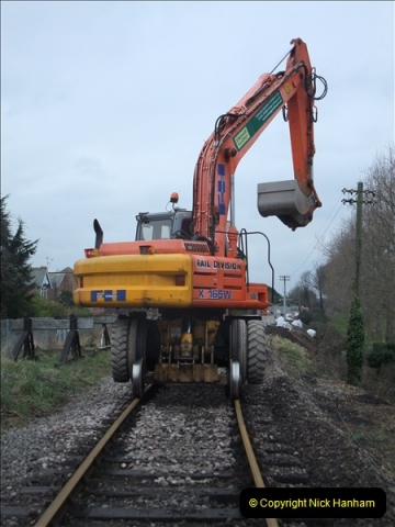 2011-01-26 New trackwork continues. Driving 08 (11)436
