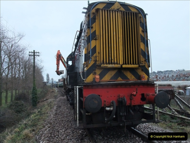 2011-01-26 New trackwork continues. Driving 08 (12)437