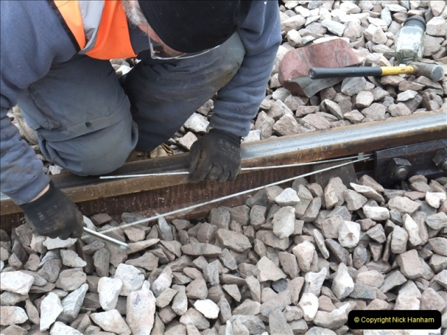 2011-01-26 New trackwork continues. Driving 08 (18)443