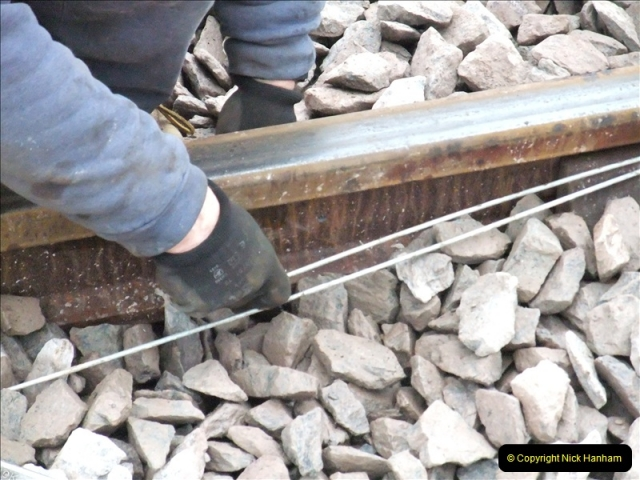 2011-01-26 New trackwork continues. Driving 08 (19)444