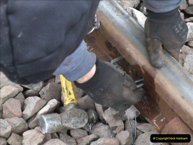 2011-01-26 New trackwork continues. Driving 08 (22)447