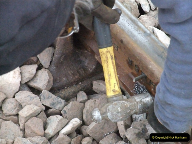 2011-01-26 New trackwork continues. Driving 08 (23)448