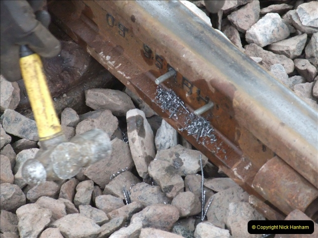 2011-01-26 New trackwork continues. Driving 08 (24)449