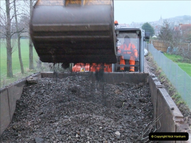 2011-01-26 New trackwork continues. Driving 08 (3)428