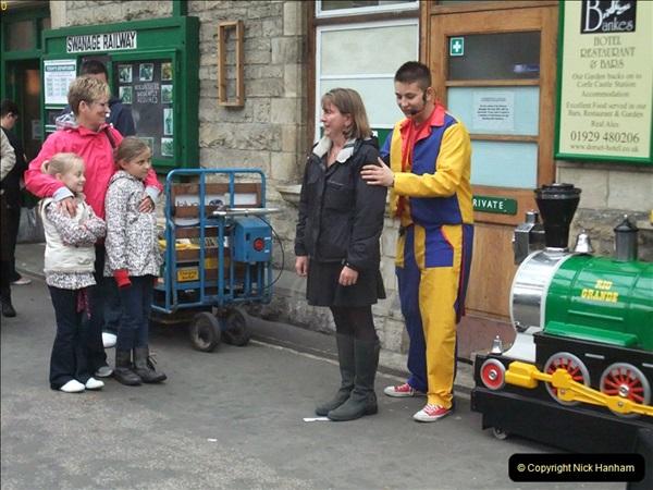 2011-10-24 Family Fun Week driving DMU.  (31)031