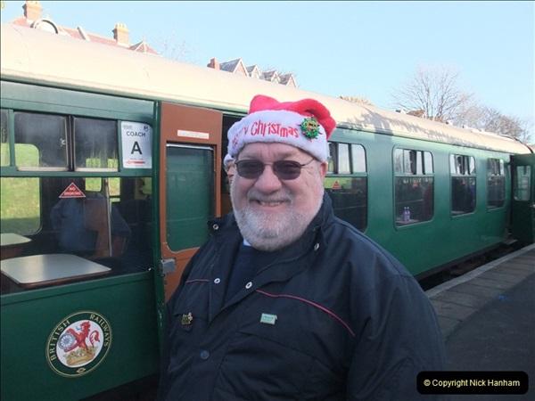2011-12-03 Driving the DMU on Santa Specials No.1 (63)261