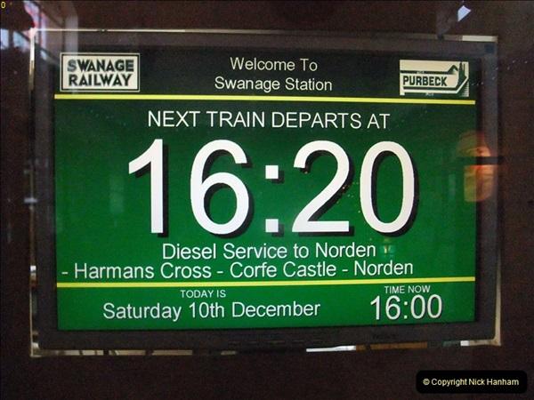 2011-12-10 Driving the DMU on Santa Specials No.2 (66)346