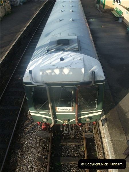 2011-12-17 Driving the DMU on Santa Specials. No.3 (34)391