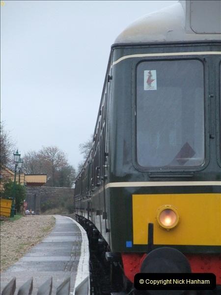 2011-12-22 Driving the DMU on Santa Specials. No.4 (20)450
