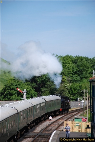2017-06-01 A morning on the Swanage Railway.  (69)0302