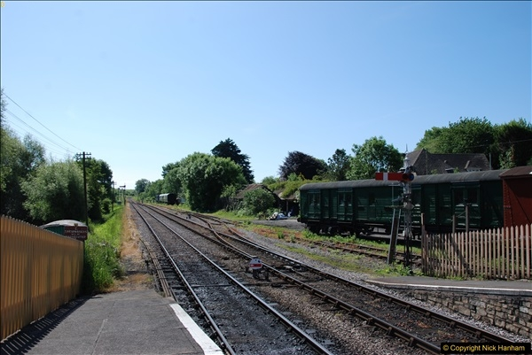 2017-06-01 A morning on the Swanage Railway.  (70)0303