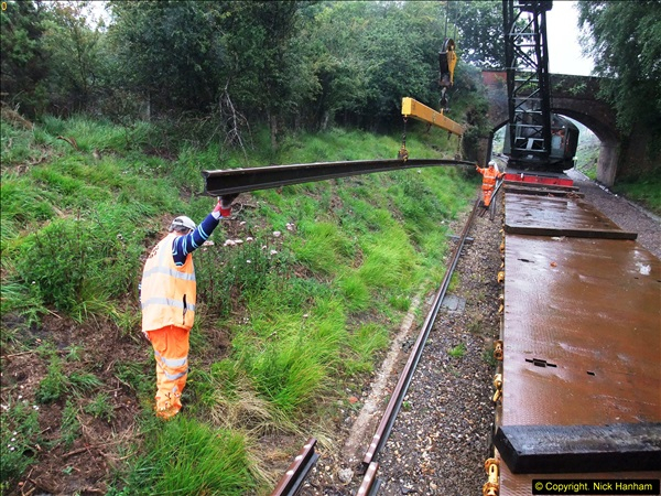 2015-08-10 SR New Section Work on the 08. (73)614
