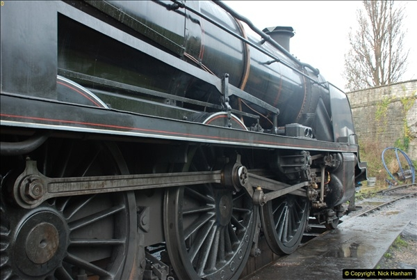 2015-11-04 SR Steam Photo. Charter with 30053 & Harmans Cross Station.  (11)279