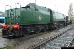 2015-11-04 SR Steam Photo. Charter with 30053 & Harmans Cross Station.  (10)278