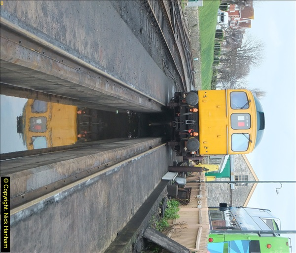 2016-02-14 Fourty years to the day the SR gained access to Swanage Station.  (4)072