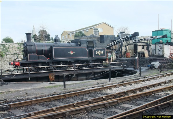 2016-02-14 Fourty years to the day the SR gained access to Swanage Station.  (5)073