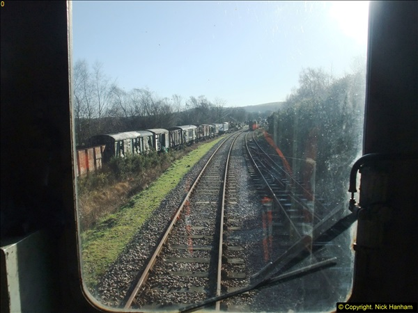 2016-02-15 SR Engineering work on the new section for the Wareham link.  (10)086