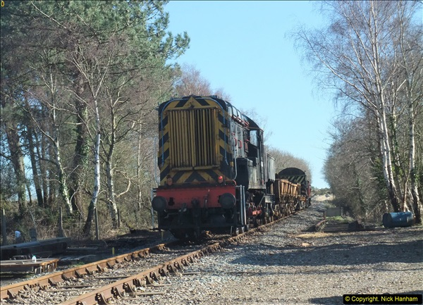 2016-02-15 SR Engineering work on the new section for the Wareham link.  (106)182