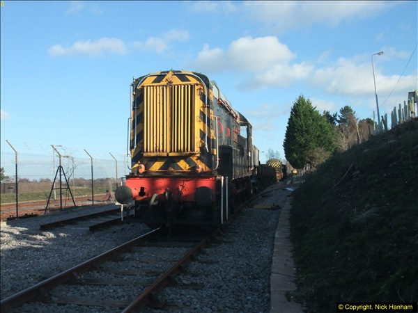 2016-02-15 SR Engineering work on the new section for the Wareham link.  (135)211