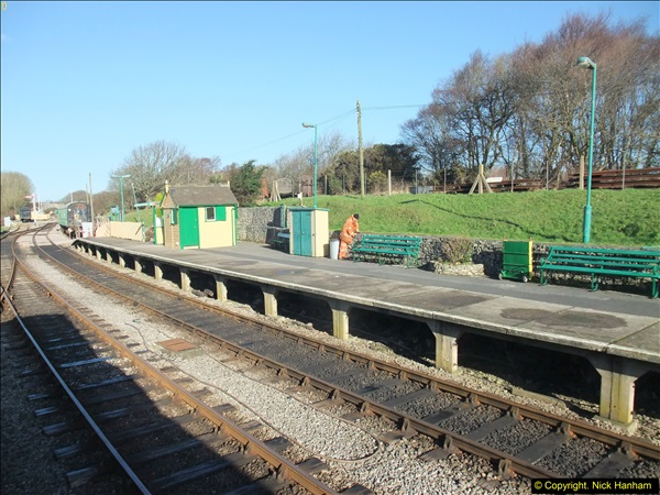 2016-02-15 SR Engineering work on the new section for the Wareham link.  (16)092