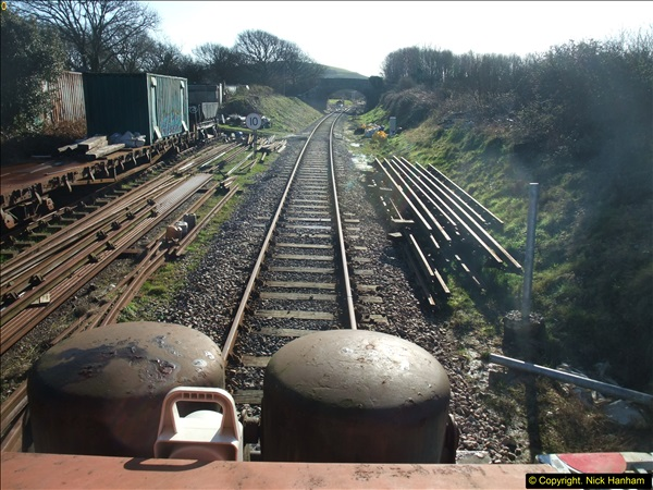 2016-02-15 SR Engineering work on the new section for the Wareham link.  (18)094