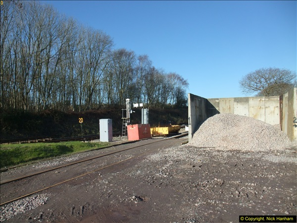 2016-02-15 SR Engineering work on the new section for the Wareham link.  (21)097