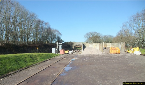 2016-02-15 SR Engineering work on the new section for the Wareham link.  (24)100