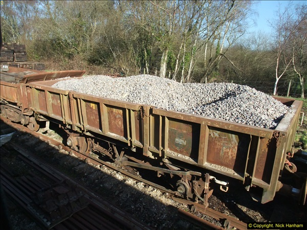 2016-02-15 SR Engineering work on the new section for the Wareham link.  (31)107
