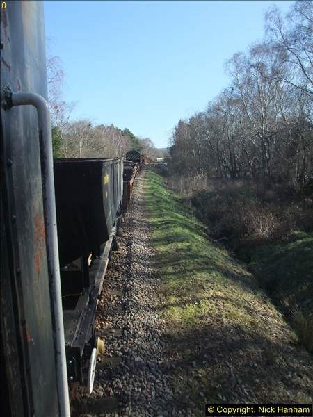 2016-02-15 SR Engineering work on the new section for the Wareham link.  (65)141