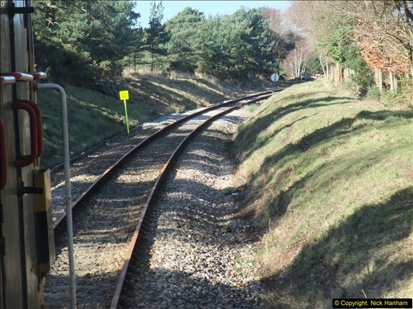 2016-02-15 SR Engineering work on the new section for the Wareham link.  (70)146