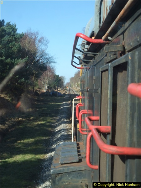 2016-02-15 SR Engineering work on the new section for the Wareham link.  (72)148