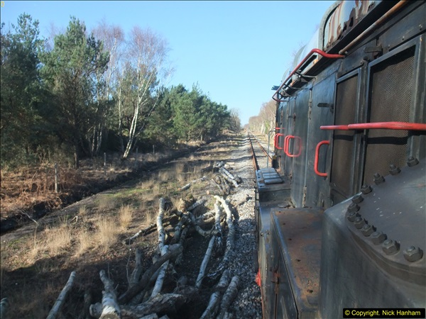 2016-02-15 SR Engineering work on the new section for the Wareham link.  (75)151